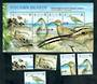PITCAIRN ISLANDS 2004 Bristle Thighed Curlew. Set of 5 and miniature sheet. - 52190 - UHM