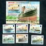 JERSEY 2011 Shipwrecks	 Set of 6 and miniature sheet. - 52194 - UHM