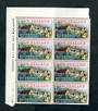 NEW ZEALAND 1965 Centenary of the Government. Plate Block 1A 1A 1A 1A. - 52196 - UHM