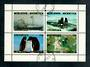 NEW ZEALAND 1986 Greenpeace Worldpark Antarctica. Miniature sheet. Very fine used. - 52198 - Cinderellas