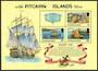 PITCAIRN ISLANDS 1978 Bounty Day. Set of 3 and miniature sheet. - 52323 - UHM