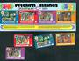 PITCAIRN ISLANDS 1979 Christmas. Set of 4 and miniature sheet. - 52325 - UHM