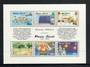 PITCAIRN ISLANDS 1991 Bicentenary of the Settlement of Pitcairn Island. Set of 6 in sheetlet. - 52329 - UHM