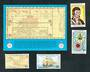 SOLOMON ISLANDS 1981 Bicentenary of the Visit by Maurelle. Set of 4 and miniature sheet. - 52332 - UHM