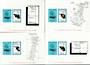 NEW ZEALAND 1988 Auckland Islands Local Mail. 4 miniature sheets all imperforate. - 52356 - UHM