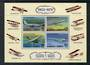 SAMOA 1978 Aviation Progress. Miniature sheet. - 52369 - UHM