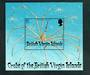 BRITISH VIRGIN ISLANDS 1997 Crabs. Miniature sheet. - 52375 - UHM