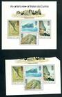 TRISTAN DA CUNHA 1980 Painting by Roland Svensson. Third series. Set of 4 and miniature sheet. - 52403 - UHM