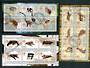 BENIN 2002 Animals. Three miniature sheets