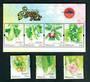 MALAYSIA 2007 Stamp Week. Set of 3 and miniature sheet. - 52442 - UHM