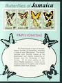 JAMAICA 1975 Butterflies. First series. Miniature sheet. - 52451 - UHM