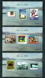 NEW ZEALAND 2006 Best of 2006. Set of 3 miniature sheets. - 52456 - UHM