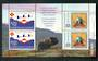 GREENLAND 1993 Anniversary of the Red Cross and Boy Scouts. Miniature sheet. - 52464 - UHM