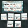 GREENLAND 1996 Whales. First series. Set of 6 and miniature sheet. - 52475 - UHM