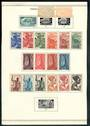 FRENCH EQUATORIAL AFRICA 1947 Definitives. Set of 22. Three values are used. Priced accordingly. - 52488 - Mint
