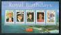 BERMUDA 2000 Royal Birthdays. Miniature sheet. - 52499 - UHM