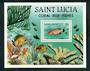ST LUCIA 1983 Coral Reef Fish. Miniature sheet. - 52566 - UHM