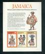 JAMAICA 1975 Christmas. Miniature sheet. - 52567 - LHM