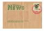 NEW ZEALAND 1988 Stampways Mail from Waitomo News. Fold. - 530739 - PostalHist
