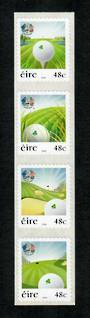 IRELAND 2006 Ryder Cup. Self Adhesive. Strip of 4. - 53270 - UHM