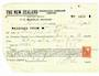 NEW ZEALAND 1940 New Zealand Insurance Receipt with Centenary 2d. - 53751 - Fiscal