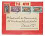 SENEGAL 1933 Airmail Letter from Dakar to Paris. - 537517 - PostalHist