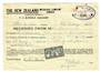NEW ZEALAND 1946 New Zealand Insurance Receipt with 1946 Peace 2d. - 53755 - Fiscal