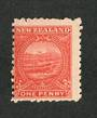 NEW ZEALAND 1898 Pictorial 1d Terraces. - 56 - UHM