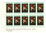 NIUE 1973 Christmas. Three Plate Blocks each of 10. - 56121 - UHM