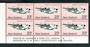 NEW ZEALAND 1974 Aeroplanes 23c Flying Boat. Plate Block 1B 1B 1B 1B. - 56316 - UHM