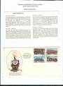 SOUTH AFRICA 1983 Steam Locomotives. Set of 4 on first day cover.    - 56328