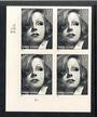 USA 2005 Greta Garbo. Self Adhesive. Block of 4. - 58102 - UHM