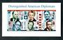 USA 2006 Diplomats. Self Adhesive. Miniature sheet. - 58112 - UHM
