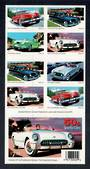 USA 2005 Sports Cars. Self Adhesive. Booklet. - 58129 - UHM