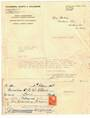 NEW ZEALAND Letter 1938 from Chambers Worth and Chambers Public Accountants  relating to the issuing of shares together with var