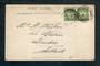 NEW ZEALAND Postmark Masterton TE WHARAU. H Class cancel on postcard. - 69376 - Postmark