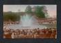 NEW ZEALAND 1914 Coloured Postcard by W A Price of the Fountain at the  Auckland. Exhibition. - 69399 - Postcard
