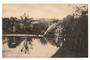 Real Photograph of Reflections Public Gardens Levin. - 69502 - Postcard