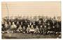 Real Photograph of Foxton - 1911 Foxton School Junior Company - 69509 - Postcard