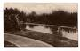 Real Photograph by Aitken of the Lake the Public Gardens Levin. - 69550 - Postcard
