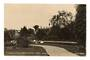 Real Photograph by Lucas of a corner of Public Gardens Levin. - 69555 - Postcard