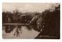 Real Photograph by Aitken. Relections Public Gardens Levin. - 69556 - Postcard