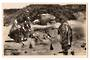 Real Photograph by Frank Duncan of Maori Women Cooking in Hot Pool Rotorua. - 69609 - Postcard