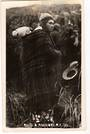 Real Photograph by Nash of Maori and Picaninny. - 69615 - Postcard