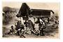 Real Photograph by Frank Duncan of Maori Children at Games Rotorua. - 69616 - Postcard