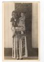 Real Photograph of the wife and baby of a Maori Chief. - 69625 - Postcard