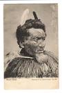 Real Photograph of Maori Chieftain. - 69630 - Postcard