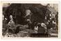 Real Photograph by Nash of Maori preparing Kai. - 69643 - Postcard