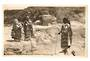 Real Photograph of Maori Women cooking in hot stream. - 69650 - Postcard