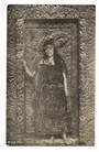 Real Photograph by Marsh of Guide Ruth Whakarewarewa. - 69651 - Postcard